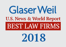 "Glaser Weil Included in U S  News – Best Lawyers 2018 ""Best"